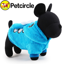 Petcircle pet Dog Clothes Winter Cute Stitch Dog costumes 2 Color Size XXS-L Pet Dog Clothing for chihuahua Free shipping