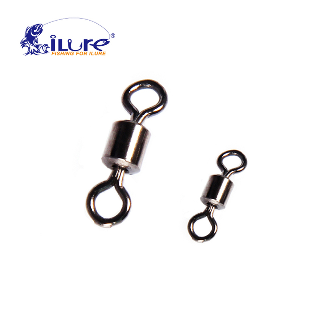 iLure 50 Pcs Warm Sphere Roller Bearing Roller Bearing Solid Fishing Rings Ocean Connector Fishing Boat Hooks Fishing Tackle