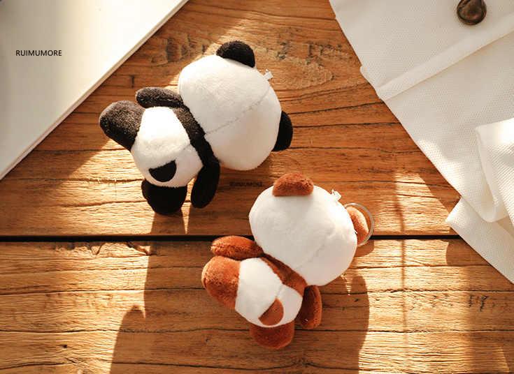 רב עיצובים-חמוד 4-10cm חדש פנדה צעצועי קטיפה, ממולאים פנדה בעלי החיים צעצועי בובות, חתונה מתנה