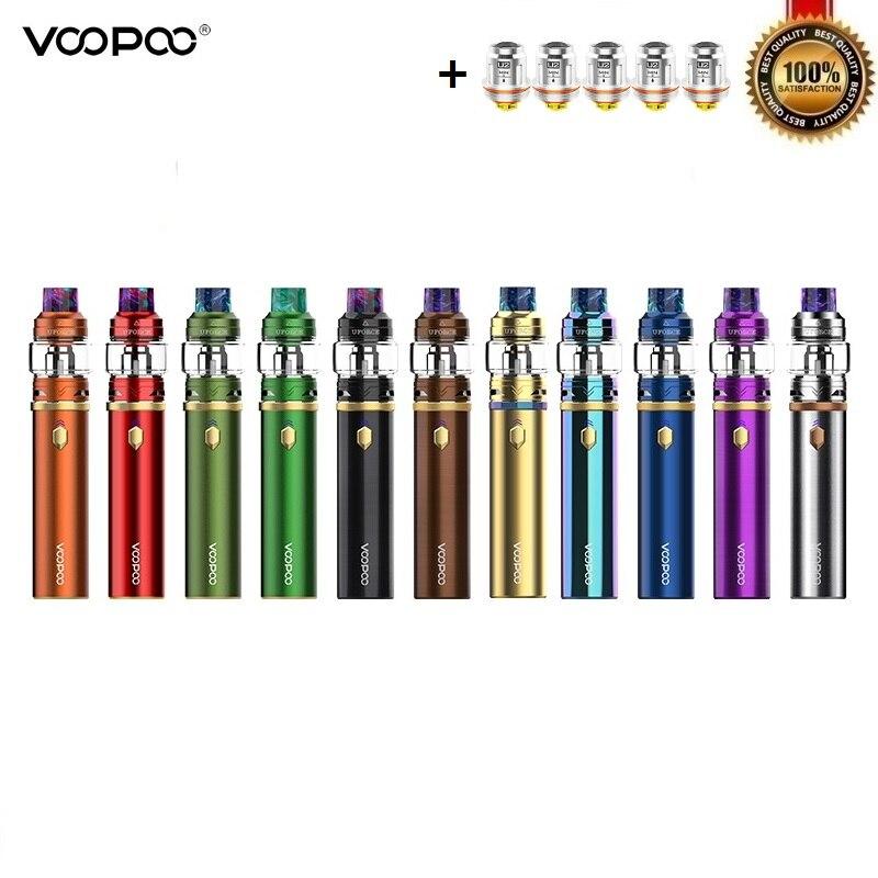 Kit de démarrage d'origine Voopoo calibre 110W avec stylo Vape réservoir UFORCE 5ml intégré 3000 Kits de cigarettes électroniques vaporisateur