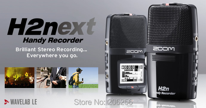Neue Zoom H2n Tragbare Digitale Audio-recorder Handliche Recorder Aufnahme Stift Tragbares Audio & Video