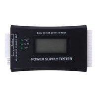 Digital LCD Power Bank Supply Tester Computer 20 24 Pin Check Quick Power Supply Tester Support