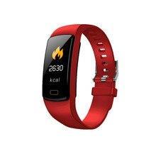 Banda inteligente pulseira Heart Rate monitor de pressão arterial à prova d água esportes de Fitness Rastreador smart watch para andriod ios moda Quente