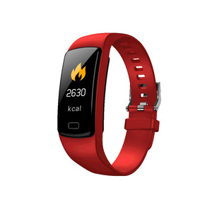 Image 1 - Banda inteligente pulseira Heart Rate monitor de pressão arterial à prova d água esportes de Fitness Rastreador smart watch para andriod ios moda Quente
