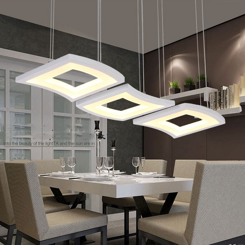 Modern fashion 3 heads dimming led pendant lights,adjustable dininga room restaurant kitchen living room pendant lamps