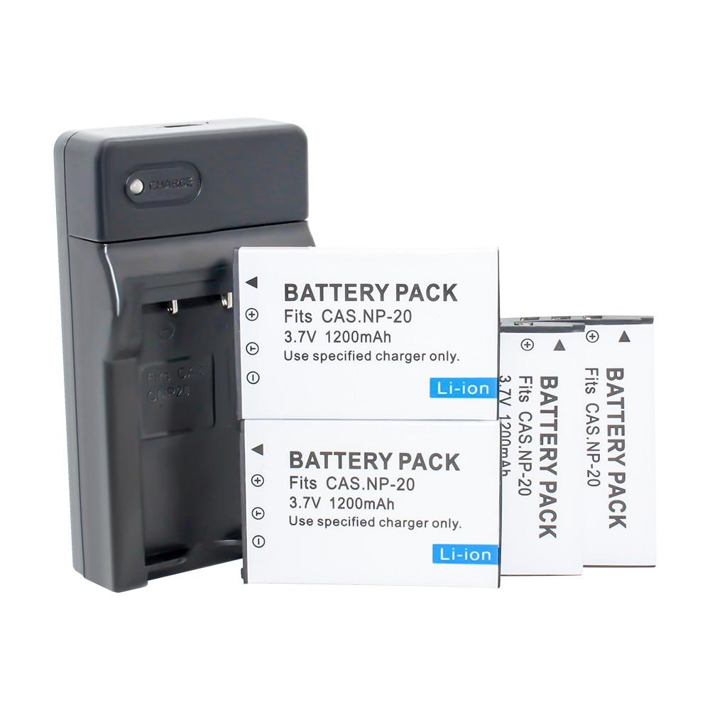 USB cargador rápido para Casio Exilim Exilim ex-z75//Exilim ex-z77