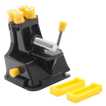 Vise Mini Vice Hand-Tool Jewelries Fixed-Repair DIY Craft Mould Suction-Grip