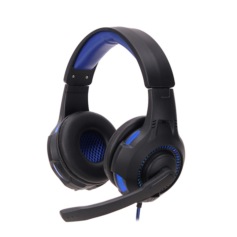 SY885MV Luminous Game Earphone Headset Gaming Headset NetBar Dedicated Headphone LED Light Support
