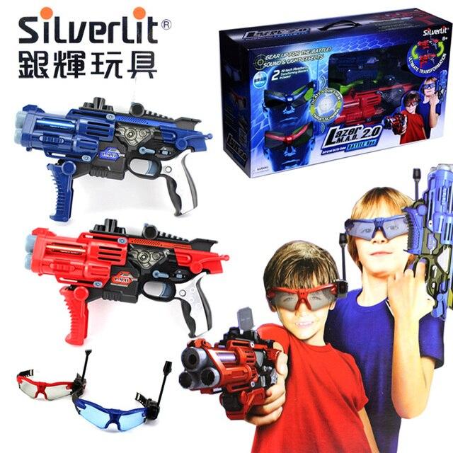 silverlit toys cs enfant jouet pistolet laser grand. Black Bedroom Furniture Sets. Home Design Ideas