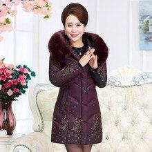 Winter Jacket Women Large Fur Collar Wadded Padded Coats Jacket Female Hooded Down Cotton Coat Plus Size 5XL Parka Mujer C2623