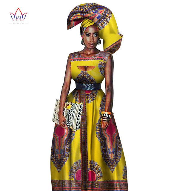 6dc921fb2a8 Traditional African Women Clothing African Print Wax Custom Long Dresses  for Women Africa Women Clothing Dashiki Dresses WY1871