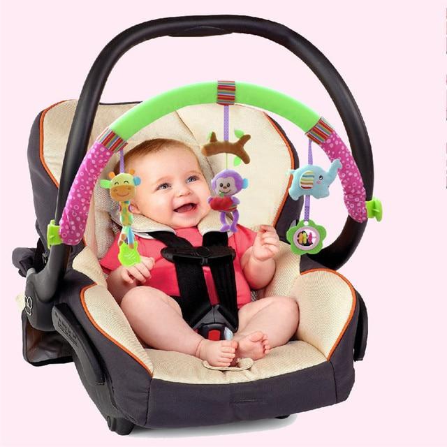 Newborn Baby Stroller Car Clip Hanging Seat & Stroller Toys Ocean ...