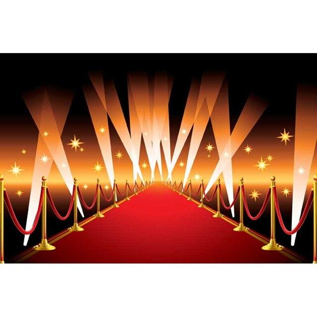 7x5ft Hollywood Rojo Alfombras Backdrops Pa O De Vinilo De