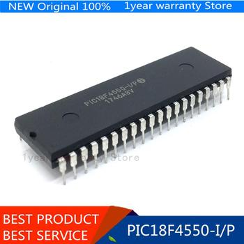New original 10pcs/lots PIC18F4550-I/P PIC18F4550 DIP-40 IC In stock!