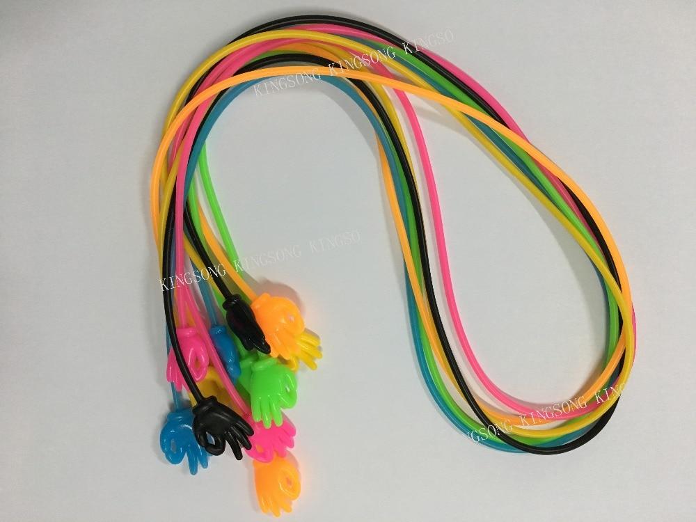 100% Silikon OK Hand Typ Brille dehnbar Gummiband Brille Kette String - Bekleidungszubehör - Foto 4