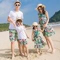 2017 Семья Соответствующие Наряды Мода Летней Одежды Для Матери И Дочери Семья Посмотрите Мать Дочь Платья