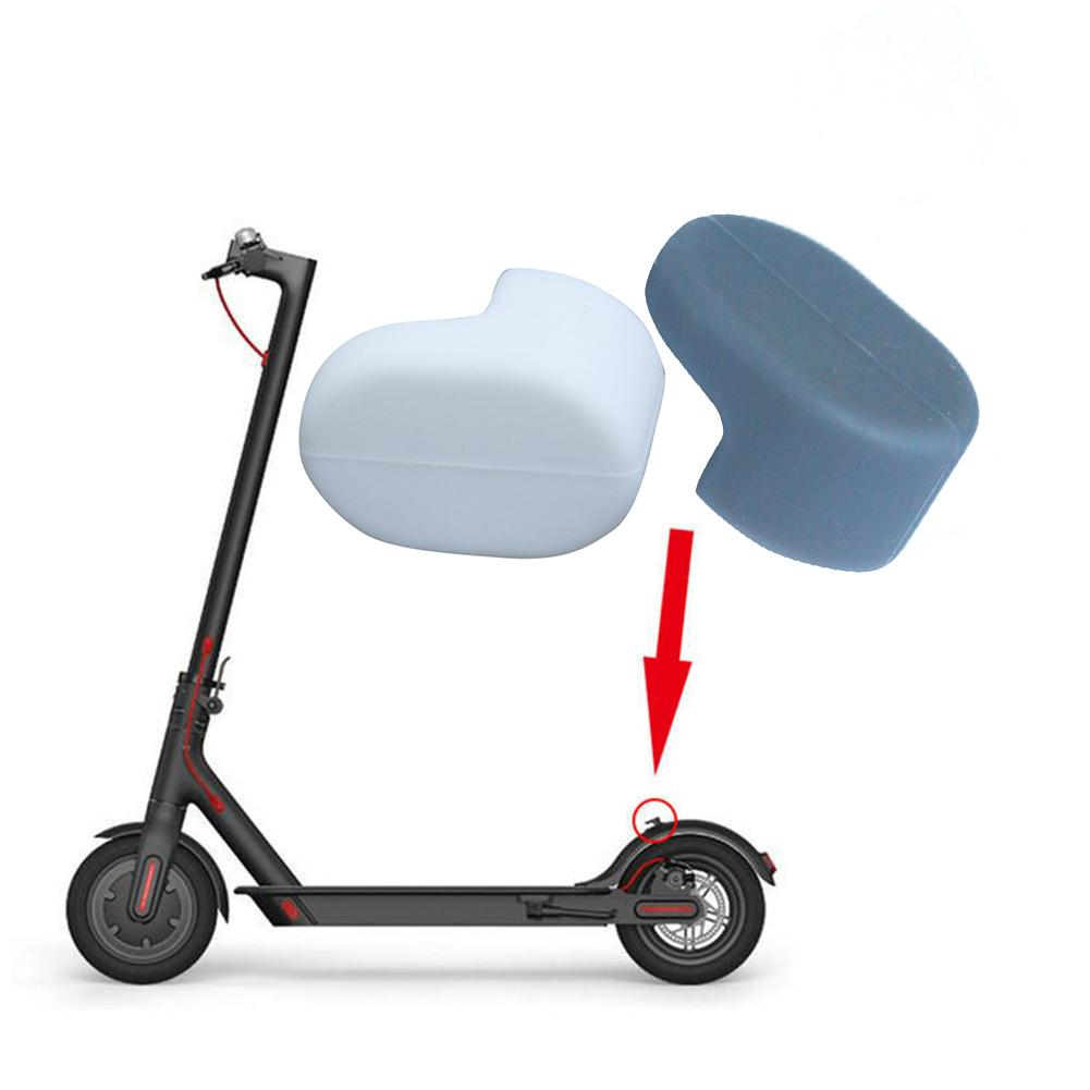 Fender Hook Silicone Sleeve For Xiaomi M365 Electric Scooter Mudguard Lightweight Rear Fender Hook Silicone Sleeve Buckle Cap