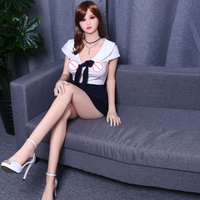 Ailijia 165cm life like silicone sex doll for sale japanese sex doll small breast china silicon real doll manufacturer