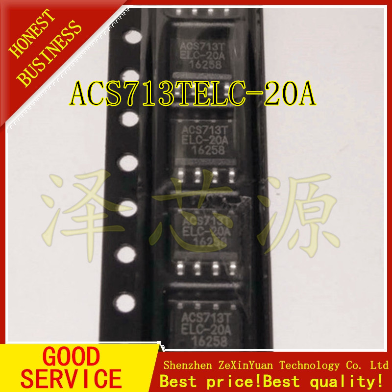 5pcs/lot ACS713TELC-20A ACS713ELCTR-20A ACS713 SOIC8 ALLEGRO New