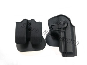Image 5 - M9 Holster Tactical IMI Right Hand BERETTA M92 Holster Paddle Pistol Gun Holster Gun Airsoft Case Hunting Accessories