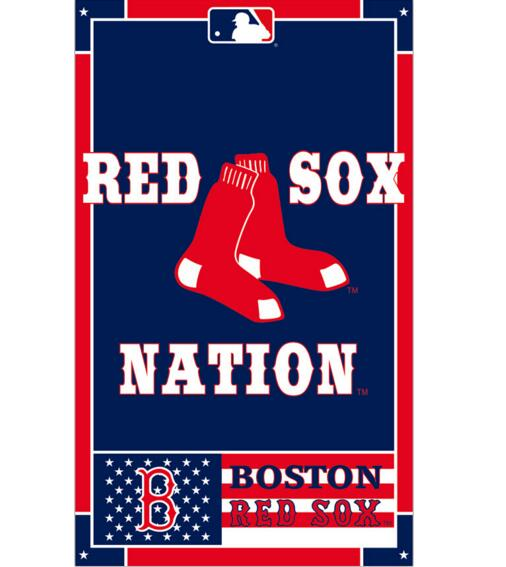 3x5ft digital printed Red Sox Boston Nation Flag With Metal Grommets