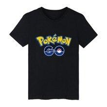2016popular shirt Pokemon Go Fashion New Design T Shirt Funny Cool T-shirt Short Sleeve Comics Printed Tshirt Unisex T-shirt