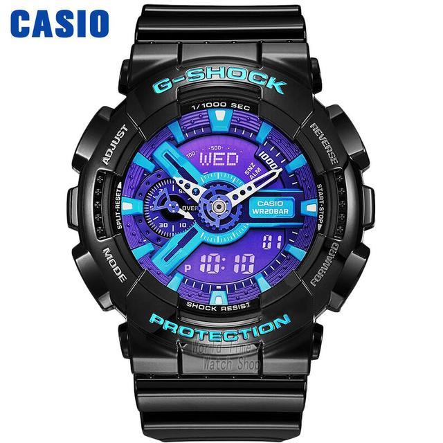 28346a2c5afd Reloj Casio terremoto anti-magnético impermeable hombres reloj deportivo  GA-110HC-1A