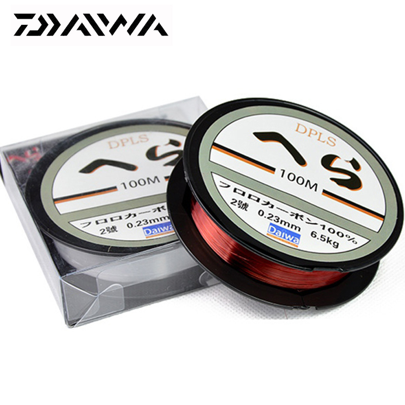 DAIWA 100M Super Strong Nylon Fishing Line 2LB - 40LB 2 Colors Japan Monofilament Fishing Line for Carp Match Sea Fishing