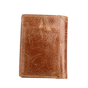 Image 3 - الرجال محفظة لينة حقيقية محفظة جلدية سعة كبيرة محفظة Vintage عملة جيب تتفاعل فرشاة حامل بطاقة محفظة طولية