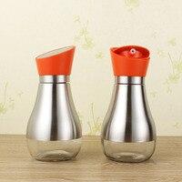 Kitchen Supplies Oiler Oil Bottle Glass Leak Proof Pot Of Vinegar Seasoning Bottle Sauce Sesame Oil