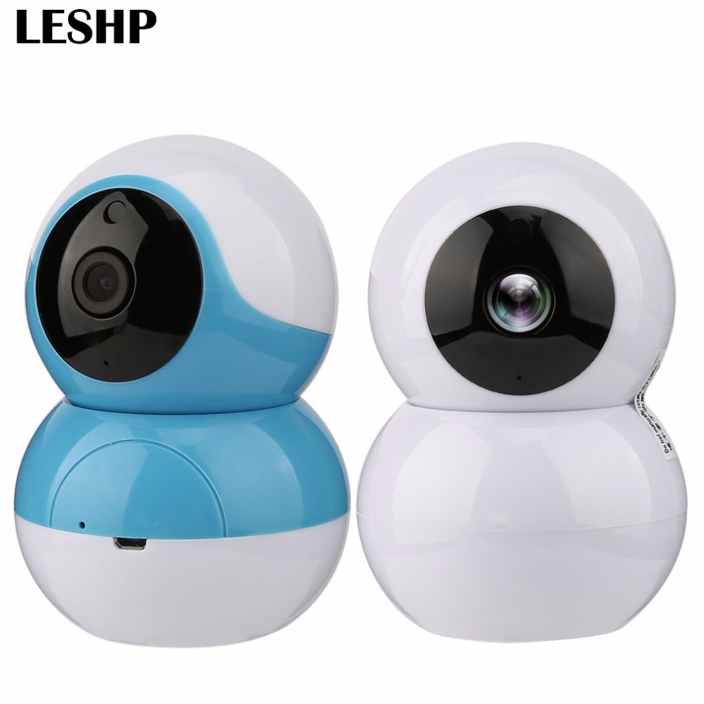 LESHP Wi-Fi Smart IP Camera PTZ Full HD Home Baby Monitor Surveillance Camera Security Night Vision P2P Network Video Camera