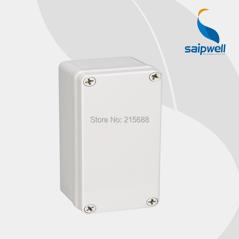 2015 New Most Popular Saipwell IP66 waterproof Small Plastic ABS Junction Box 80 180 70mm DS