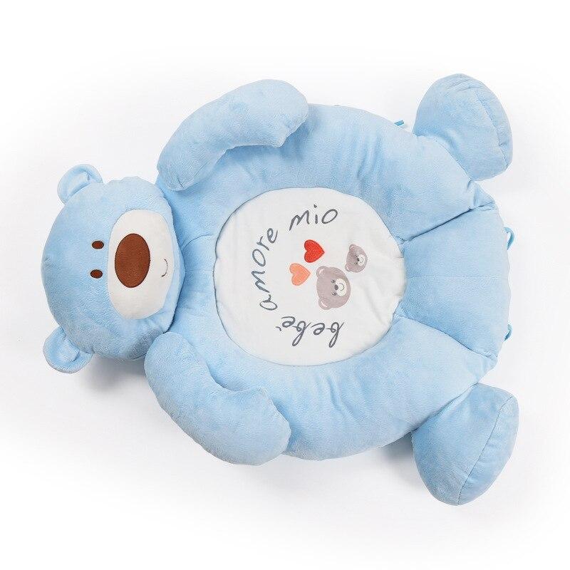Tapis de développement de bébé pour les nouveau-nés épais tapis doux pour enfants avec hochet en peluche jouet Musical éducatif bébé activité Gym tapis de jeu - 5