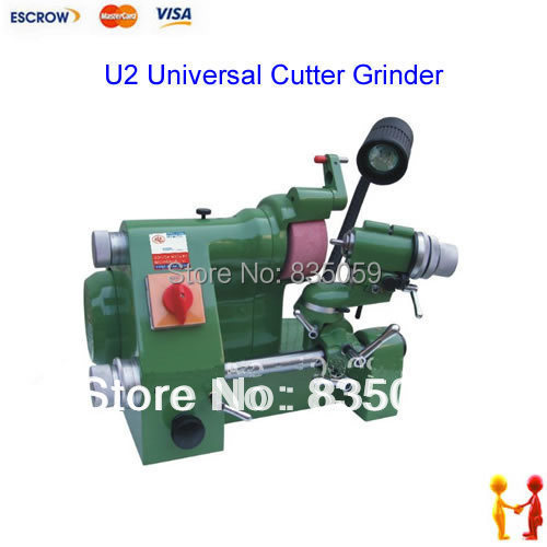 New and hot !! U2 Universal Cutter Grinder,Cutting tool Grinding Machine, tool sharpener best price mgehr1212 2 slot cutter external grooving tool holder turning tool no insert hot sale brand new