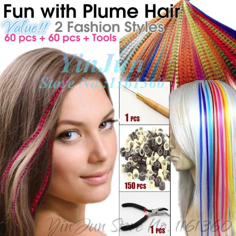 120pcs Hair Wholesale Synthetic Hair Extensions Diy Hair Styling