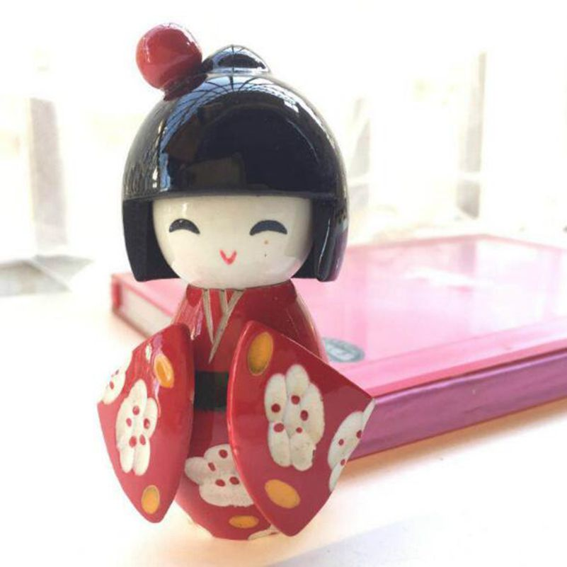 New Cute Handmade Oriental Japanese Kokeshi Girls Wooden Dolls size 8.5x5cm  ,color ship by randomNew Cute Handmade Oriental Japanese Kokeshi Girls Wooden Dolls size 8.5x5cm  ,color ship by random