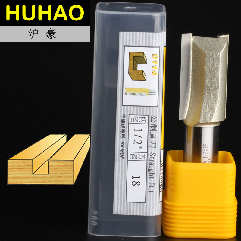 fresas para router Woodworking Tools Metric Flute Straight Bit - 1/2*18mm - 1/2 Shank - Arden A0114468 2 flutes straight carving cutter router bits metric cleaning bottom arden router bit 1 2 1 2 30mm shank arden a0118018