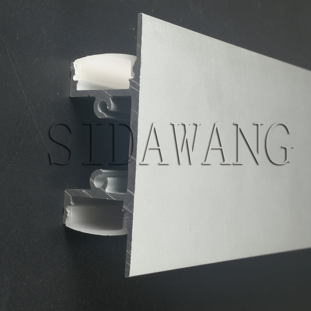 2meter piece wall up and down light mounting aluminum led profile channels for 12mm