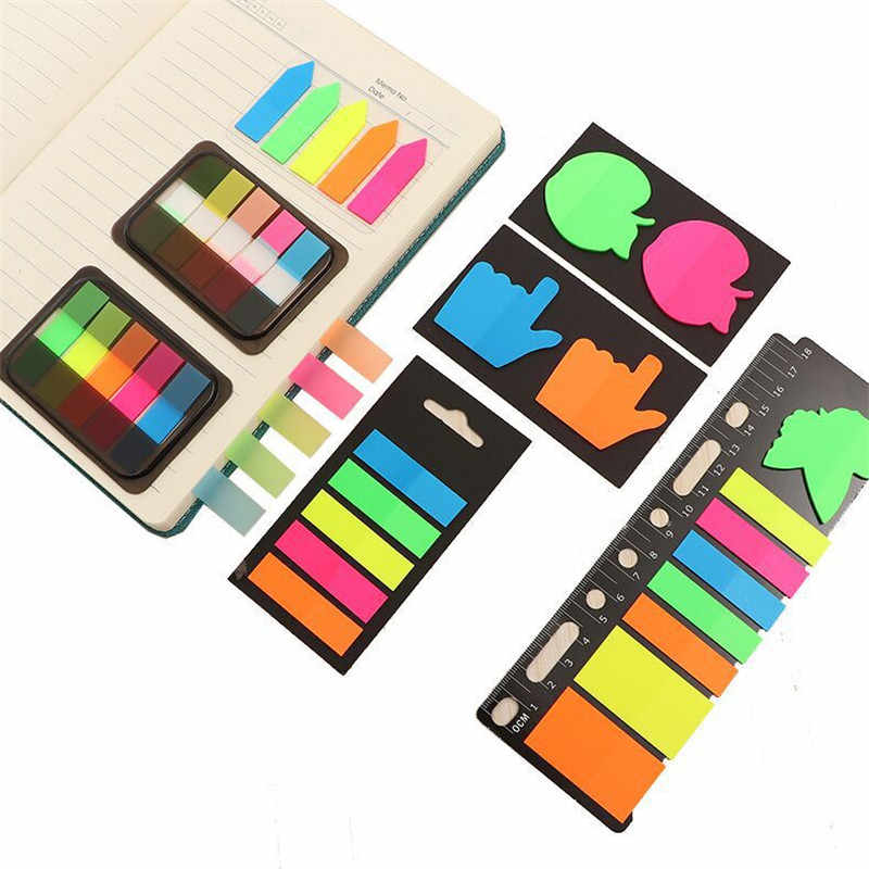 น่ารัก Kawaii กล่อง Memo Pad กระดาษโน้ตดัชนีโพสต์ It Planner สติ๊กเกอร์ Notepads เครื่องเขียนอุปกรณ์สำนักงานโรงเรียน