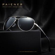 PAIENER HD Óculos Polarizados UV400 Óculos de Sol dos homens da Marca oculos de sol masculino Masculino Óculos Acessórios Para Mulheres Dos Homens