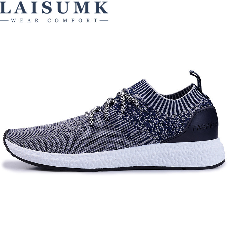 2017 LAISUMK Mens Casual Shoes,Men Summer Style Mesh Flats For Men Loafer Creepers Casual Shoes Very comfortable size:39-44