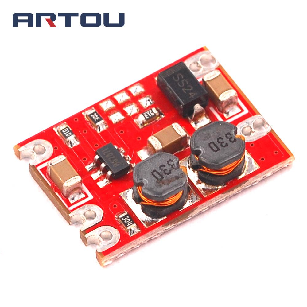 DC-DC Automatic Buck Boost Power Module Input 3-15V Output 4.2V Step Up and Down Board