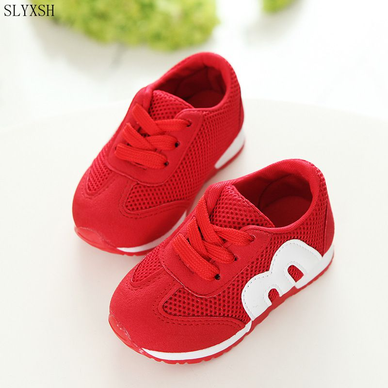 SLYXSH 2019 New Summer Girls Sandals Korean Cut-outs Princess Baby Toddler Girl Sandals Kids Casual Flat Shoes For Girl