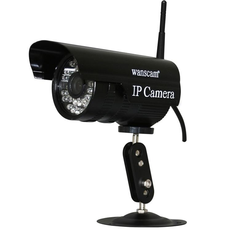 WANSCAM Mini Outdoor Black 3.6mm Lens Wide Angle IR Night Vision P2P PNP Waterproof IP Camera Wireless Wifi wanscam mini outdoor black 3 6mm lens wide angle ir night vision p2p pnp waterproof ip camera wireless wifi