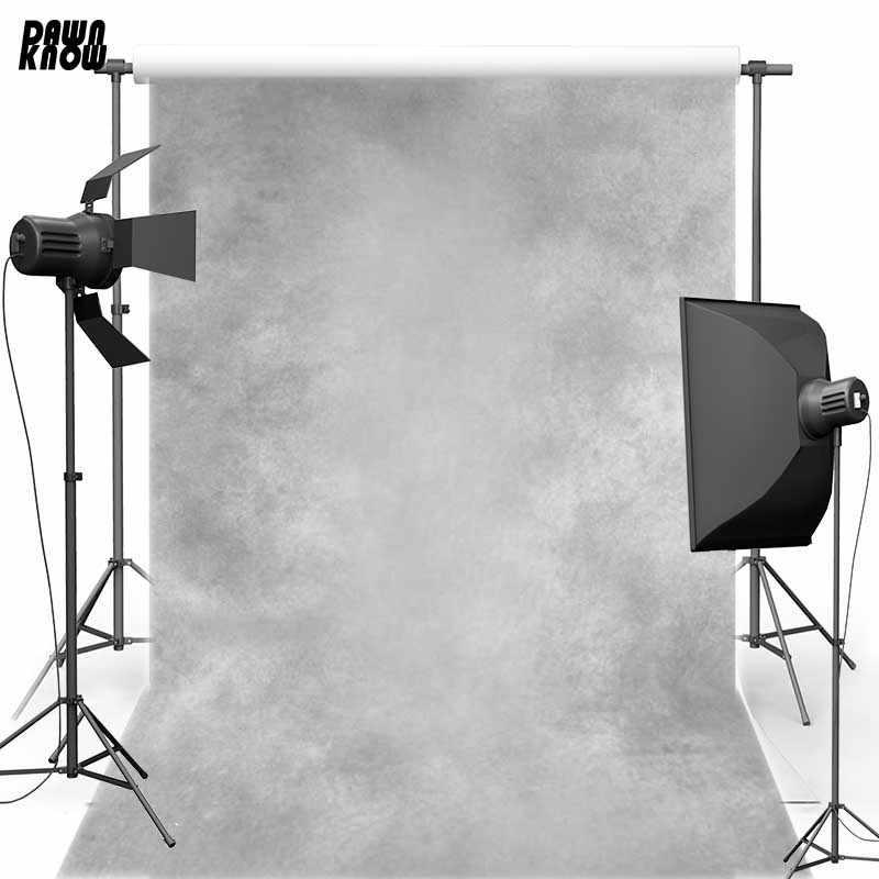 Винтажный светло серый Виниловый фон для фотосъемки с бетонными стенками