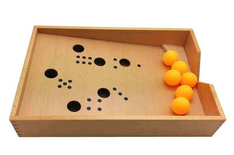 Nouveau bébé jouet Montessori bois soufflant boîte éducation de la petite enfance préscolaire formation enfants jouets bébé cadeau - 4