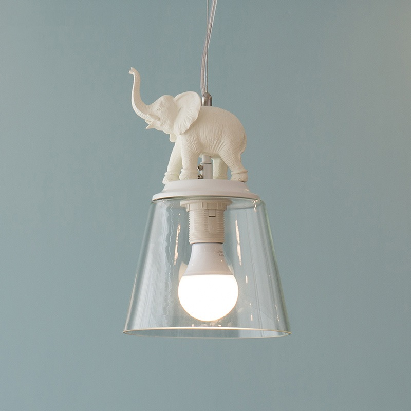 Creative Elephant LED Hanging Lamp Modern Glass Pendant Light Fixtures Bedroom Hang Lights Living Room Dining Bar Resin LightingCreative Elephant LED Hanging Lamp Modern Glass Pendant Light Fixtures Bedroom Hang Lights Living Room Dining Bar Resin Lighting