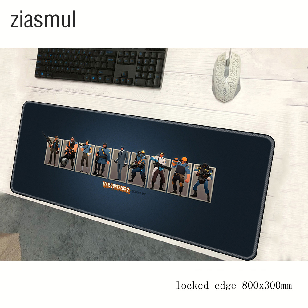 Team Fortress 2 Mouse Pad Gamer 800x300x3mm Customized Notbook Mouse Mat Gaming Mousepad Present Pad Mouse PC Desk Padmouse