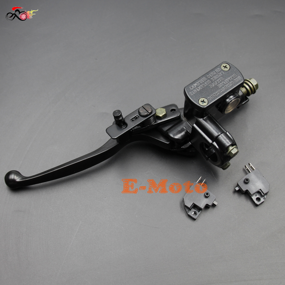 Useful New Right Side For 50 110 125cc Atv Hydraulic Brake Master Cylinder Lever With Wire Atv Parts & Accessories