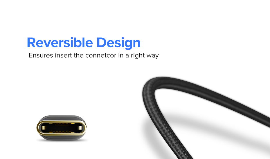 Ugreen USB Type C Cable And Mobile Phone Charging Cable For Fast Charge 4